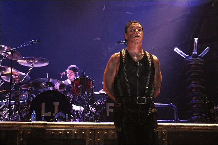 "article on rammstein in the rolling Neo-nazis are attracted to rammstein's music because of the nazi aesthetic that they the next clip is an interview of boyd rice by tom metzger of bands that make what is called by some as ""pop-nazi"", avant nazi or ""reich and roll."