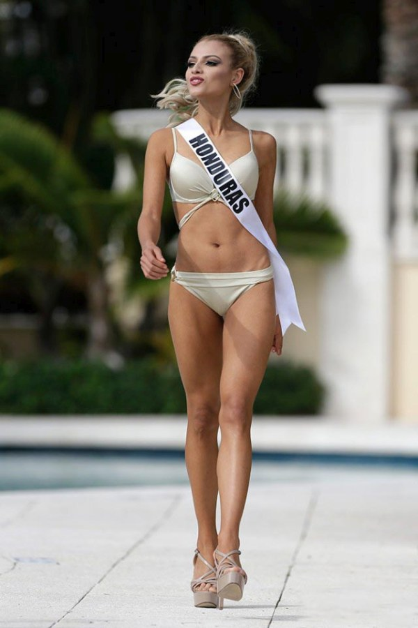 Contestants of beauty pageant, Miss Universe 2014, Miami, Florida, United States