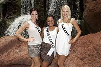 TopRq.com search results: Contestants of beauty pageant, Miss Universe 2009, Atlantis Paradise Island, Nassau, Bahamas