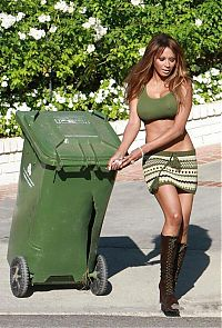 TopRq.com search results: girl with a trash can
