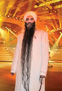 TopRq.com search results: Bhai Sarwan Singh, longest beard in the world