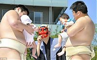TopRq.com search results: Annual Naki Sumo (Crying Sumo) contest