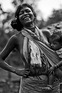 People & Humanity: smiling portrait