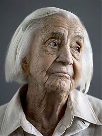TopRq.com search results: human face showing 100 years of ageing
