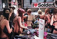 TopRq.com search results: Arrive Half-Naked, Leave Fully Dressed campaign by Desigual
