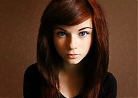 People & Humanity: young teen college girl portrait