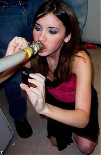 TopRq.com search results: young girl with a beer bong