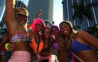 People & Humanity: Ultra Music Festival 2013 girls, Miami, Florida, United States