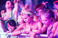 People & Humanity: Camp Bisco 2013 girls, Indian Lookout Country Club, New York, United States