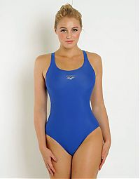 People & Humanity: young college girl portrait in skin-tight leotard