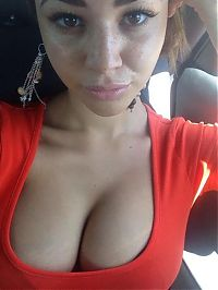 People & Humanity: breasts cleavage girl
