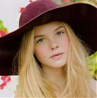 People & Humanity: young celebrity girl portrait