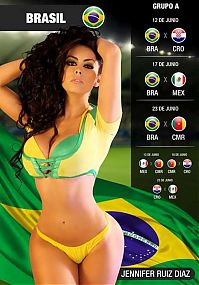 TopRq.com search results: 2014 FIFA World Cup Calendar girls