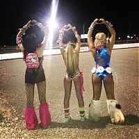 Girls From Electric Daisy Carnival 2014, Las Vegas, United States