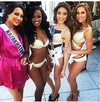 TopRq.com search results: Contestants of beauty pageant, Miss Universe 2014, Miami, Florida, United States