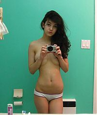 TopRq.com search results: young teen college girl without brassiere