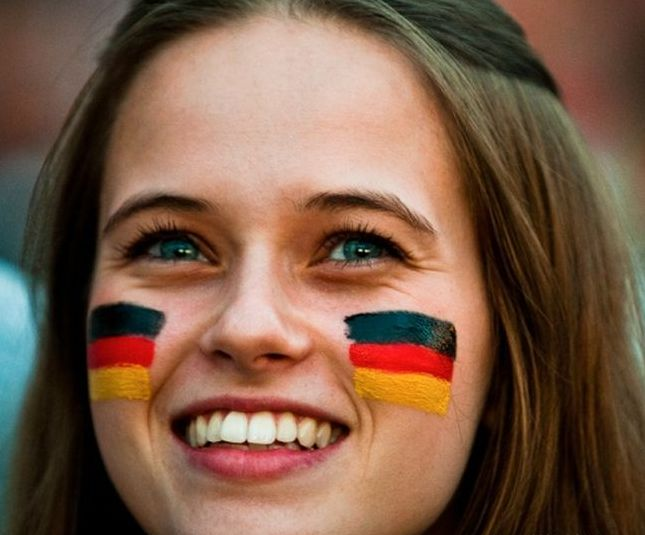 uefa euro 2012 football fan girls