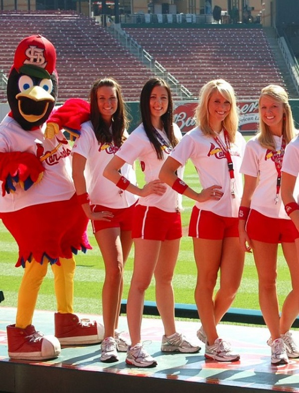 Arizona Cardinals NFL Cheerleader girls