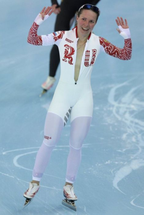 Sport girl athlete, 2014 Winter Olympics, Sochi, Russia
