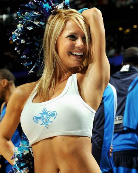 NBA cheerleader girls