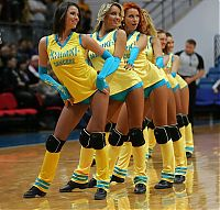 TopRq.com search results: Cheerleader basketball girls, Khimki club, Moscow, Russia