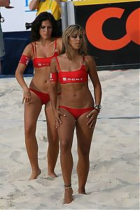 TopRq.com search results: beach volleyball cheerleader girls