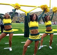 TopRq.com search results: Oregon Ducks cheerleader girls