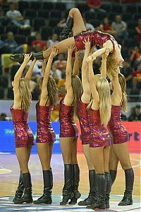 TopRq.com search results: Red Foxes cheerleader girls team, Ukraine