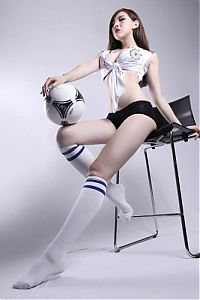 TopRq.com search results: chinese models celebrating uefa euro 2012