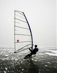 TopRq.com search results: ice windsurfing on a frozen lake