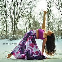 TopRq.com search results: Laura Sykora Kasperzak, girl practicing yoga poses