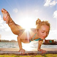 TopRq.com search results: Kino MacGregor, girl practicing yoga poses