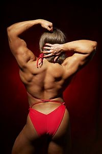 Sport and Fitness: Natalia Trukhina, strong fitness bodybuilding girl