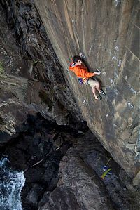 Sport and Fitness: rock climbing photography