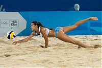 Sport and Fitness: volleyball girls
