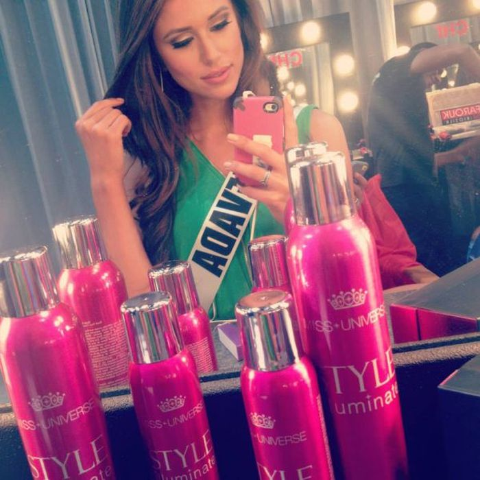 Nia Sanchez, Miss USA 2014