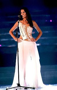 TopRq.com search results: Kaiane Aldorino, from Gibraltar, 23 year old winner of the contest Miss World 2009