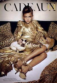 Celebrities: Thylane Léna-Rose Loubry Blondeau