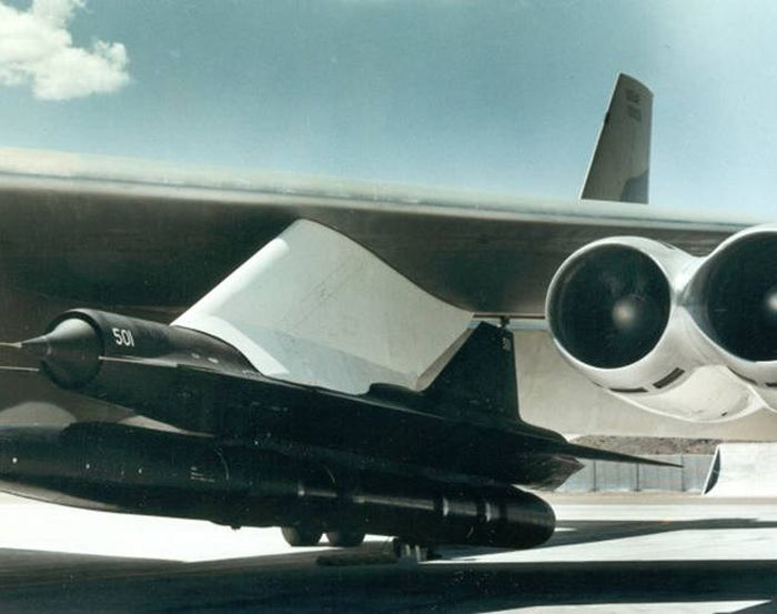Lockheed D-21 aircraft, project Tagboard