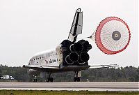 TopRq.com search results: Shuttle Discovery landed at the cosmodrome in Florida