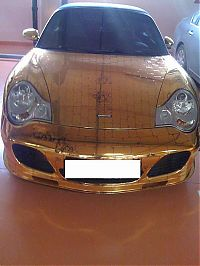 TopRq.com search results: Golden Porsche