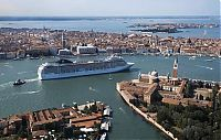 Transport: MSC Magnifica 5 cruise ship, Venice, Italy