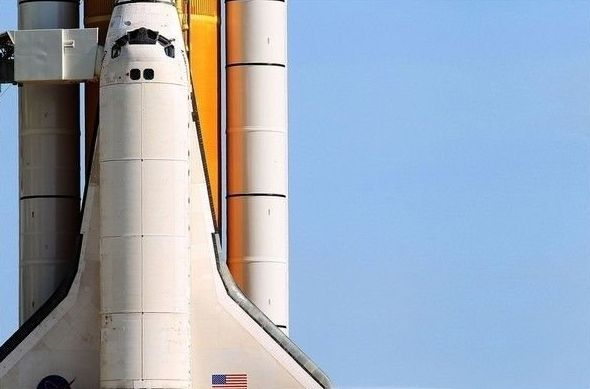 Space shuttle Discovery launched, United States