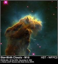 Earth & Universe: M16 Hst Big