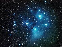 Earth & Universe: Pleiades Cluster
