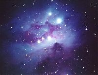 Earth & Universe: Reflection Nebula In Orion Close Up