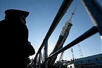 Earth & Universe: Baikonur Cosmodrome Soyuz spacecraft launched