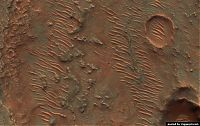 Earth & Universe: mars surface
