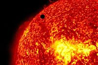 Earth & Universe: Transit of Venus across the Sun