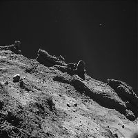 Earth & Universe: Rosetta space probe and Philae module, 67P/Churyumov–Gerasimenko comet, European Space Agency
